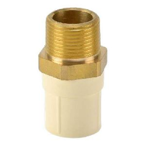 CPVC Brass Thread Male Adapter