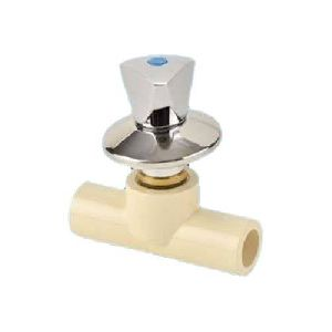 CPVC Concealed Valve Chrome Plated