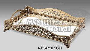 Decorative Metal Serving Tray