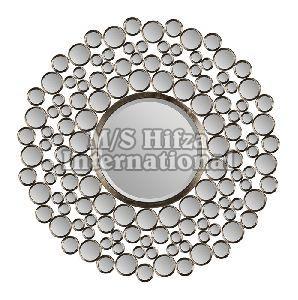 Silver Decorative Wall Mirror