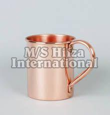 Straight Copper Mug