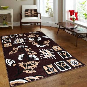 Classy Modern Collection Viscose Floral Carpet 01