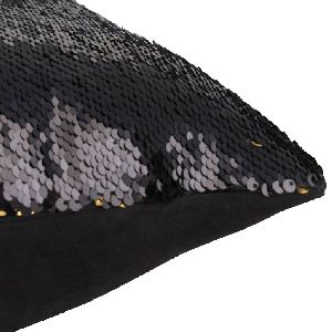 Double Shaded Sequin Cushion Cover & Filler 03
