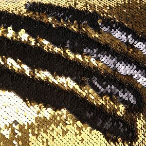 Double Shaded Sequin Cushion Cover & Filler 04