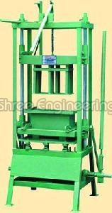 Hand Operated Double Concrete Block Making Machine