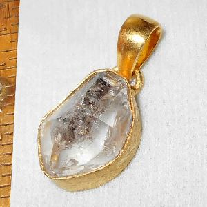 Natural Herkimer Diamond Pendant