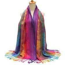 Ladies Multicolor Stoles