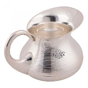Bottom Belly Jug SIlver Plated