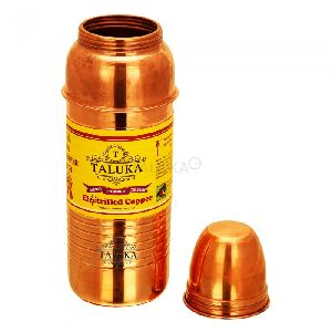 Copper Thermas design bottle with ring