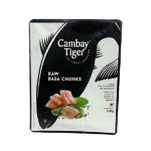 400 Gm  Cambay Tiger Basa Fish Chunks