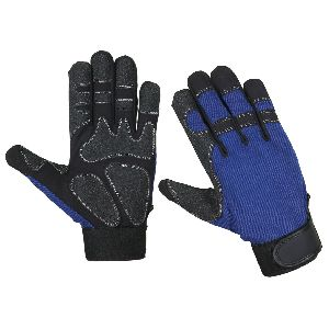 Impact Mechanic Safety Gloves / Industrial and Mechanical Glove / Impact Gloves in Synthetic Leather