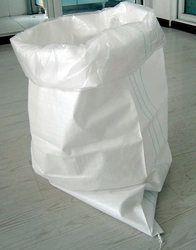 White Woven Sacks