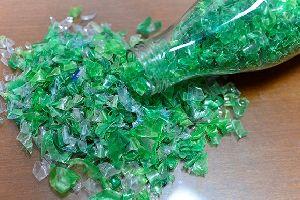 Green PET Flakes