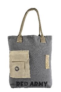 Cotton Handle Canvas Tote Bag Shopping Bag