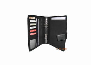 Ring binder with 6 card holder