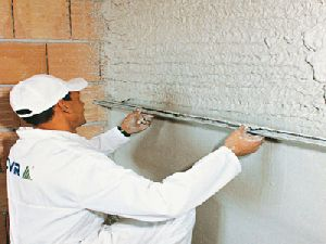 Gold Gypsum Plaster Walling Solution