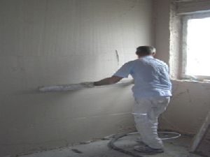 One Coat Gypsum Plaster Walling Solution