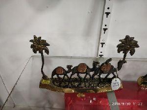 Brass Camel Statue 02