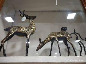 Brass Deer Statue 03
