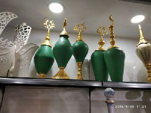 Brass Designer Vase 03