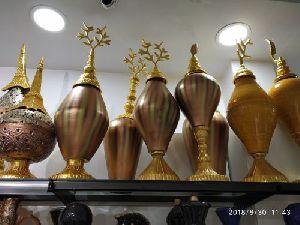 Brass Designer Vase 05