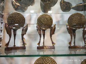 Brass Fish Statue 03