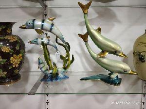 Brass Fish Statue 08