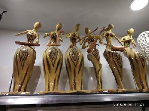 Brass Human Shaped Vase 02