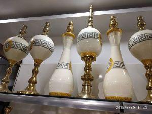 Brass Printed Vase 01