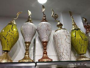 Brass Printed Vase 05
