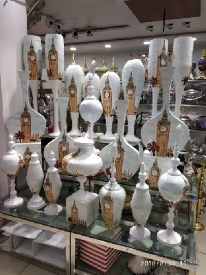 Brass Printed Vase 12