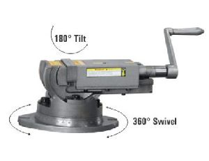 2 WAY TILTING & SWIVELING VICE