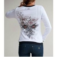 Ladies Long Sleeve Cotton T-Shirts