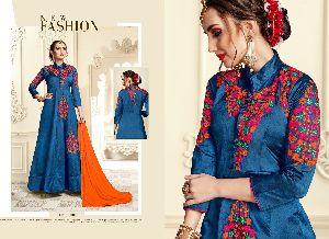 Banarasi Silk Gown