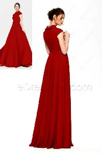FABRIC HEAVY MICRO COTTON FREE SIZE STITCH GOWN