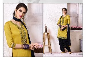 The Fashion of Patiala Vol -18 Cotton Embroidery Salwar Kameez
