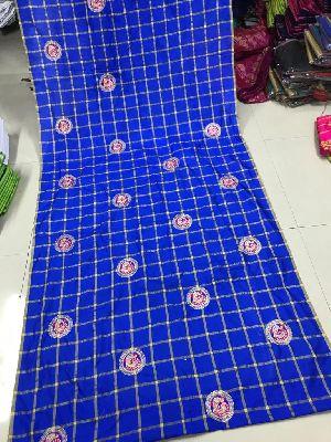 Blue Panetar Sana Silk Embroidered Sarees 02