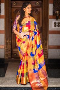 High Quality Kanchipuram Silk Sarees