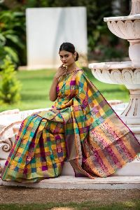 Printed Kanchipuram Silk Sarees