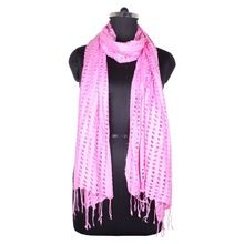 Knitted Rayon Net Scarf