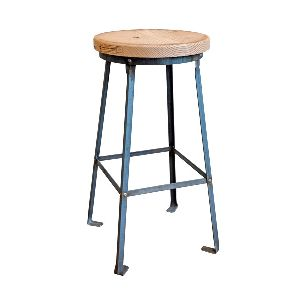 ACT30-RAW INDUSTRIAL ACCENT TABLE
