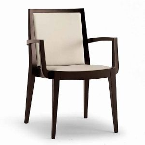 ARMC02-CONTEMPORARY SOLID WOOD ARM CHAIR