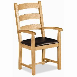 ARMC05- SOLID WOOD ARM CHAIR