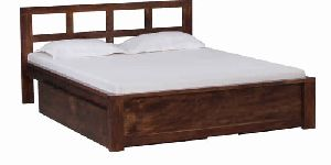 BED07-MANGO WOOD BED