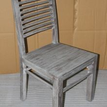 Solid wooden dining chair