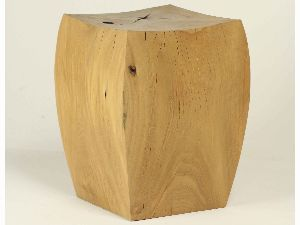 STO02- SOLID NATURAL WOOD STOOL