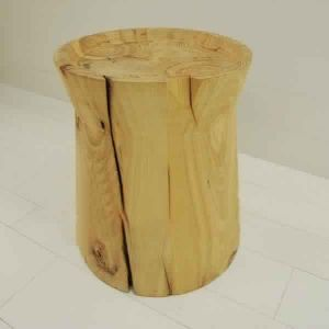 STO03- SOLID WOOD SIDE STOOL