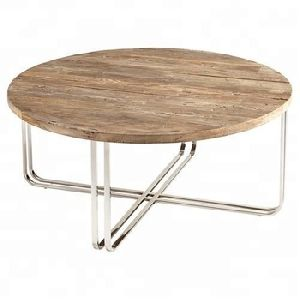 Wooden Round Coffee Table