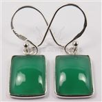 Genuine GREEN ONYX Gemstones 925 Solid Sterling Silver