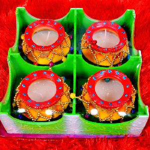 Madhav Ki Matki Diya Set